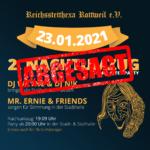 Absage Nachtumzug mit Hexenball am 23.01.2021